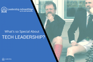 What's so Special about Tech Leadership?