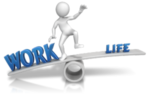 Striving for work life balance because we allow work to take over our lives