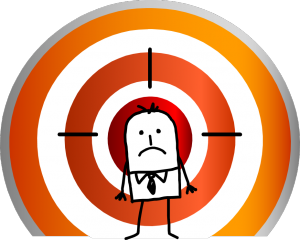 A goal worth achieving makes you place yourself in the crosshairs