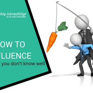 How to influence someone you don't know well—4 universal appeals