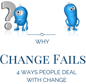Why transformation fails—4 Ways people deal with change